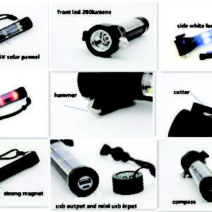 Emergency Flashlight Features